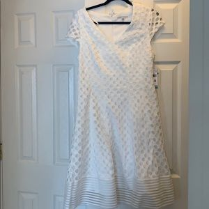 Sandra Darren White Dress